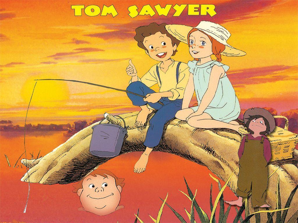 En cours l 39 abc des personnages de da page 9 - Coloriage tom sawyer ...